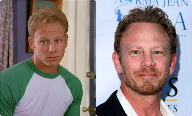 Ian Ziering - Then and Now