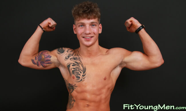 Brandon Myers On Fit Young Men