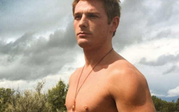 Brent Corrigan ad photo