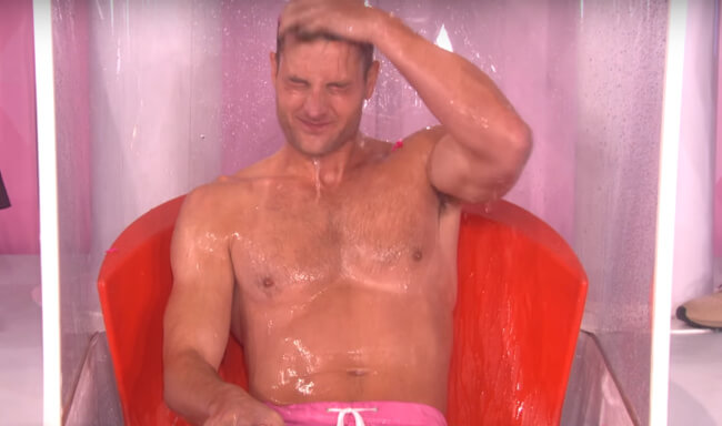 Remember Justin Hartley? He Got Half-Naked And Wet – For Charity [Video]