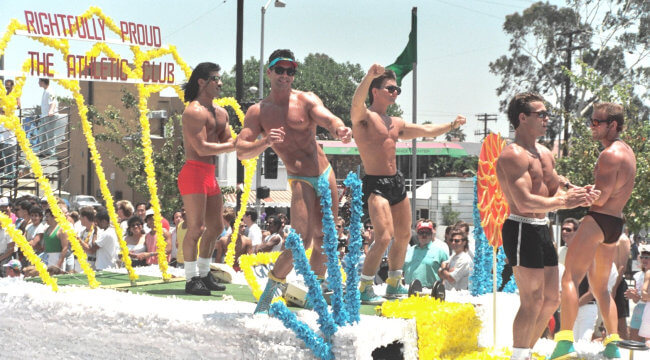 Los Angeles Pride, June 1988