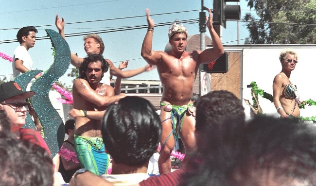 Los Angeles Pride, June 1990