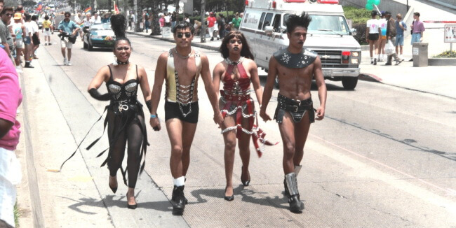 Los Angeles Pride, June 1993