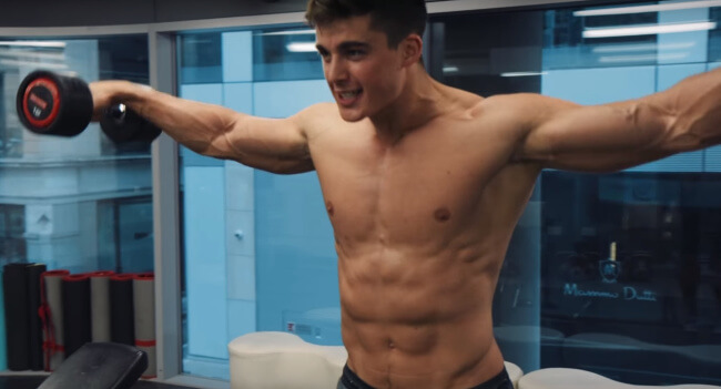 Pietro Boselli excercise videos