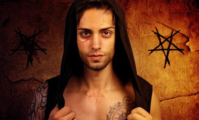 Scary man pentagram supernatural