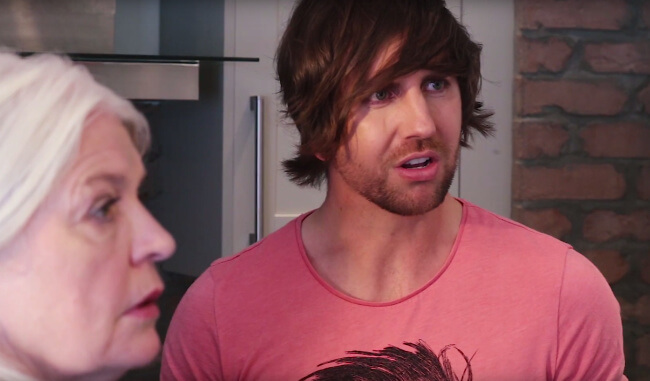 Watch: Daniel Tries To Come Out To His Parents… And Is In For A Surprise