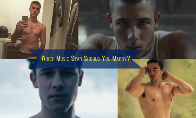 Quiz: Which Male Music Star Should You Marry?