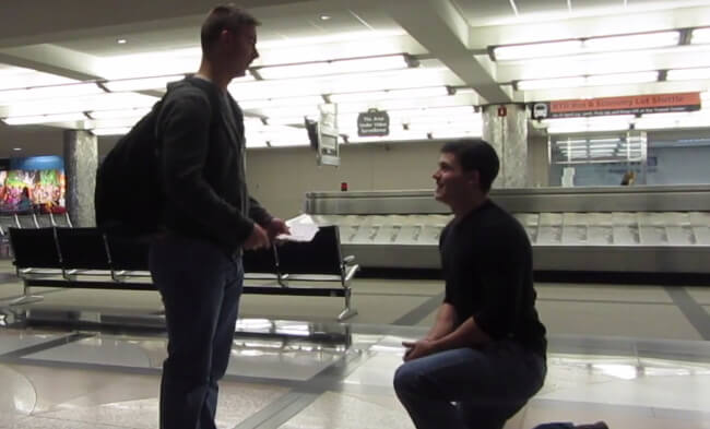 Zach Proposing