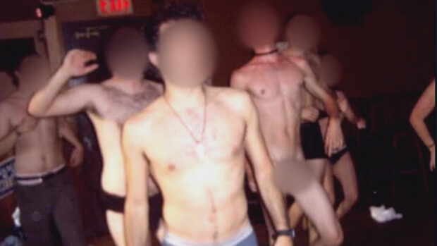 University of Ottawa naked bar crawl