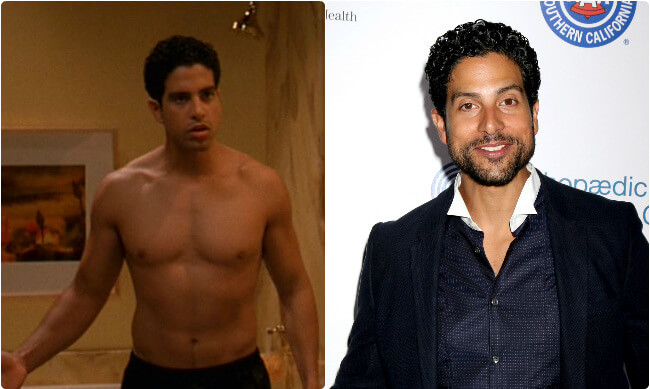 Adam Rodriguez - Then and Now