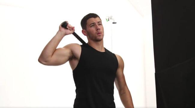 Nick Jonas Men's Health cover shoot
