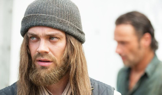 Tom Payne on The Walking Dead