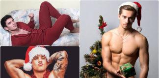 Hot Guy celebrating Christmas