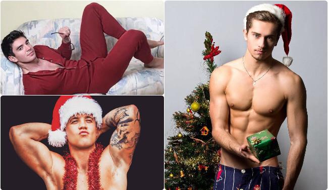 12 Photos Of Major Hunks Celebrating Christmas 2016