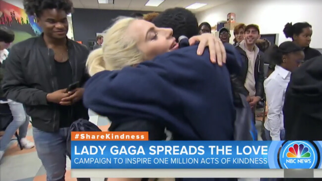 Watch: Lady Gaga Brought Gifts To Homeless LGBTQ Teens – And It'll Drive You To Tears