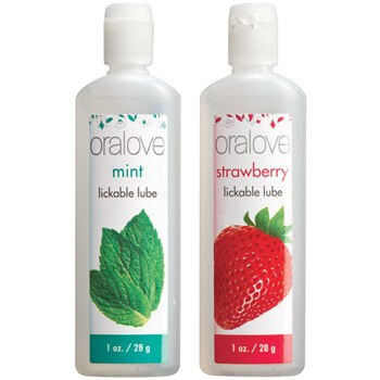 Oralove Strawberry and Mint lube