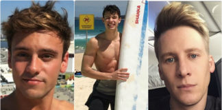 Tom Daley, Shawn Mendes, Dustin Lance Black