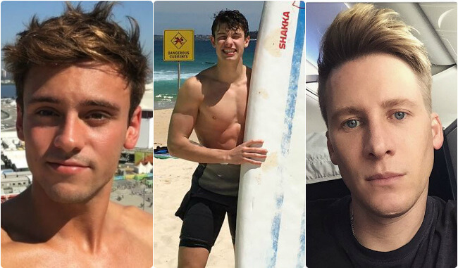 Tom Daley Reveals: There's Tension Between Me And Dustin Regarding Shawn Mendes