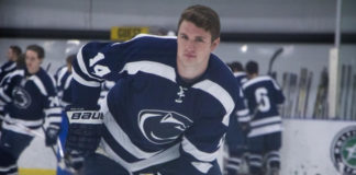 Voight Demeester gay hockey player