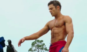 Zac Efron on the Baywatch teaser