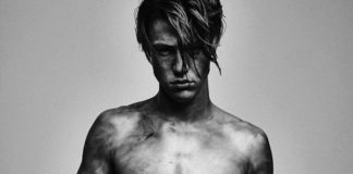 Cameron Dallas half naked and dirty in photoshoot