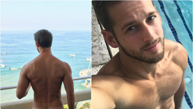 Max Emerson Does It Again: Takes All His Clothes Off On Instagram