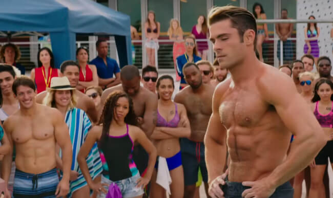 Zac Efron on Baywatch trailer