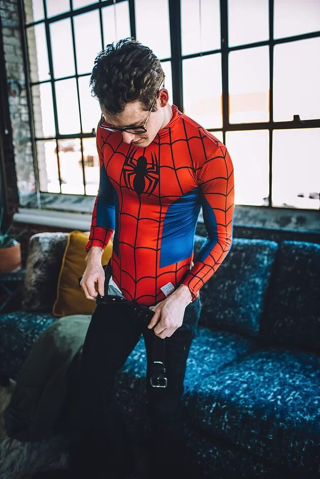Zachary Howell as Spider-Man