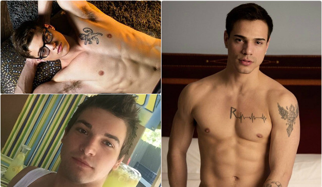 Gay Porn Stars on Instagram blake mitchell levi karter johnny rapid