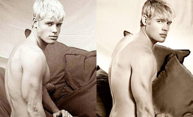 90210 Star Trevor Donovan Stripped Naked To Recreate A Past Photoshoot