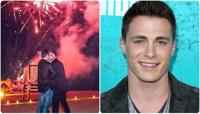 Colton Haynes proposal