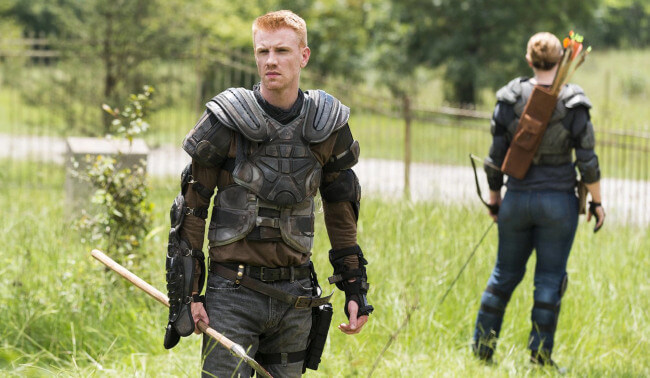 Daniel Newman the walking dead screenshot