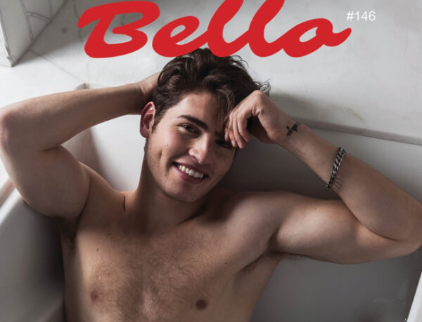 Gregg Sulkin Bello cover