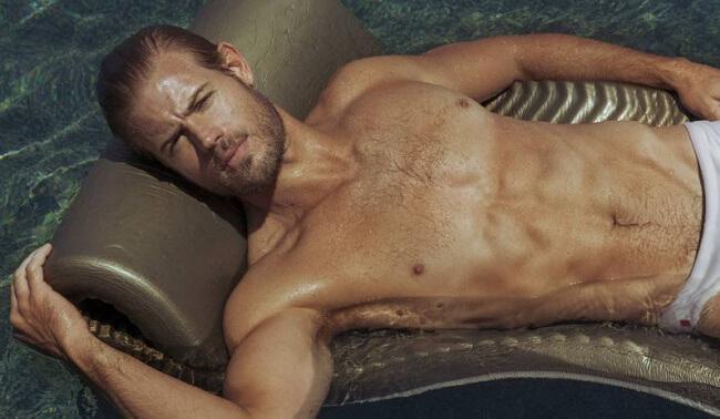 Trevor Donovan bathing suit