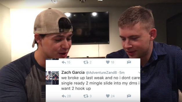 """Zach Garcia: People Send Me """"Dick Pics"""" To Try And Make Me Leave My Fiancé"""
