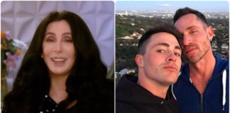 cher and colton haynes proposal