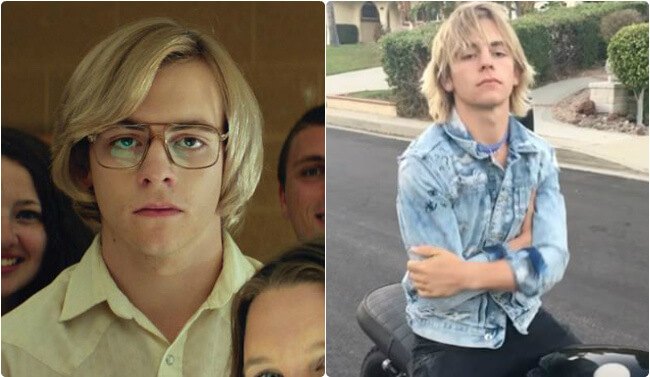 Ross Lynch gay serial killer Jeffrey Dahmer