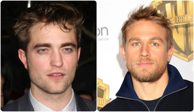 Charlie Hunnam and Robert Pattinson