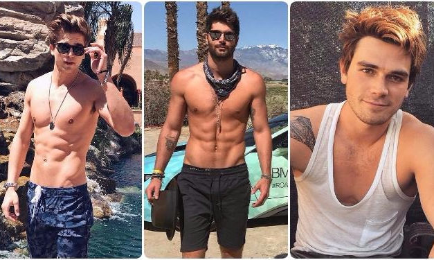 13 Hot Barely Dressed Men Having Fun At Coachella