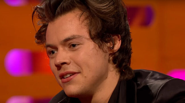 Harry Styles on graham norton