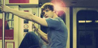 Man in a train subway