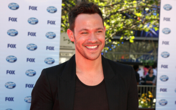 Pop Idol winner singer and actor Will Young