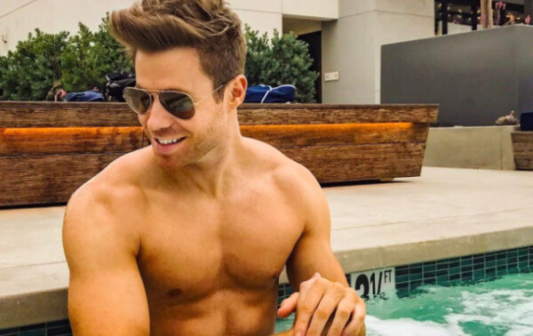Ashley Parker Angel hot tub