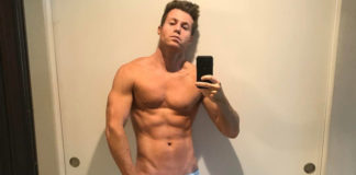 Ashley Parker Angel nearly naked