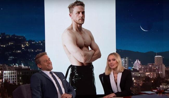 Charlie Hunnam on Jimmy Kimmel