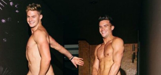 Gaz Beadle and Scotty T