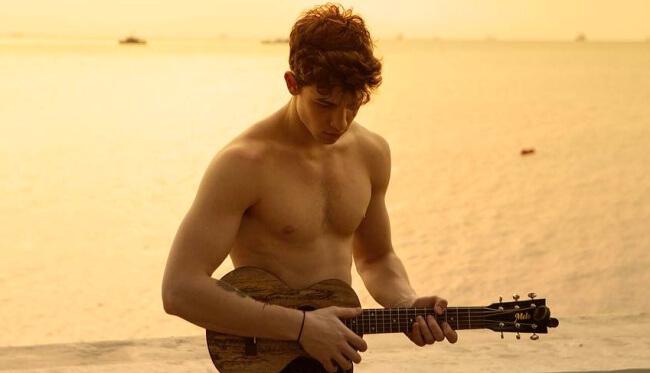 Shawn Mendes beach