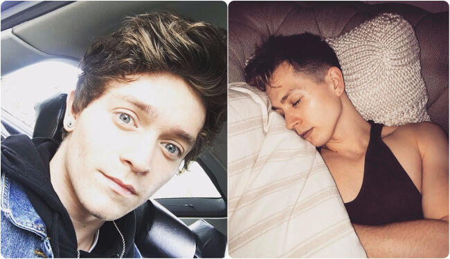 The Vamps James McVey and Connor Ball