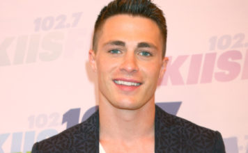 Arrow actor Colton Haynes