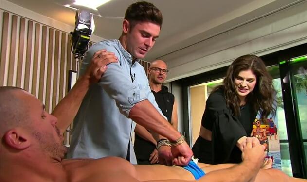 Zac Efron waxing Beau Ryan